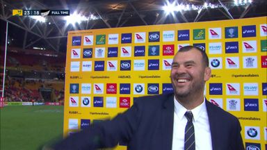 All smiles for Cheika