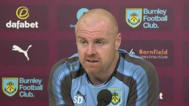 Dyche surprised by Burnley success