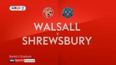 Walsall 1-1 Shrewsbury