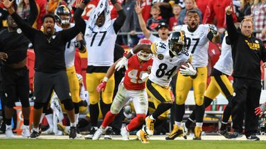 Brown's one-handed catch defeats Chiefs