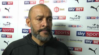 Nuno delighted with Wolves' peformance