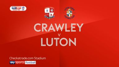 Crawley 0-0 Luton