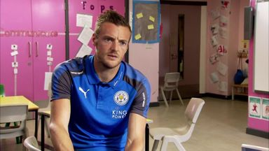 Vardy goes back to school
