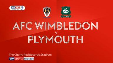 AFC Wimbledon 0-1 Plymouth