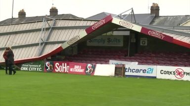Cork City's stadium collapse