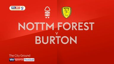 Nottingham Forest 2-0 Burton