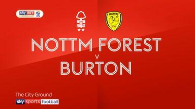 Nottingham Forest 2-0 Burton