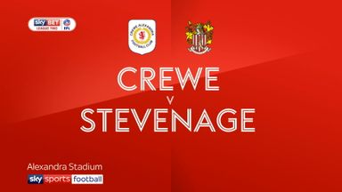 Crewe 1-0 Stevenage
