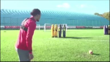 Van Dijk's free-kick skills