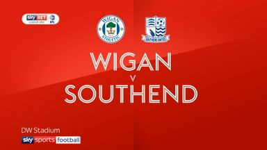 Wigan 3-0 Southend