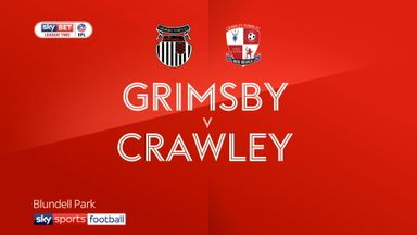 Grimsby 0-0 Crawley