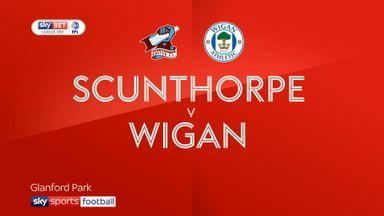 Scunthorpe 1-2 Wigan