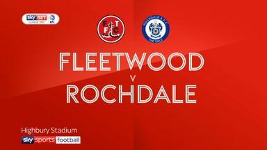 Fleetwood 2-2 Rochdale
