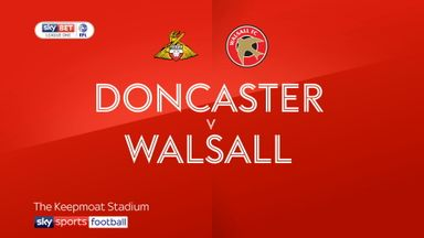 Doncaster 0-3 Walsall