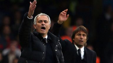 Mourinho plays down Conte spat