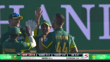 SA v Ban: 3rd ODI highlights