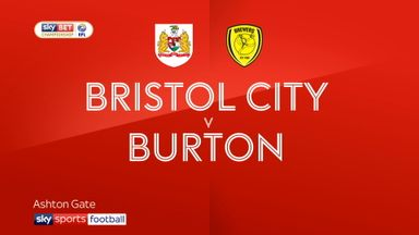 Bristol City 0-0 Burton