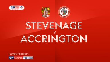 Stevenage 3-2 Accrington