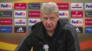 Wenger: Arsenal finding Europa League level