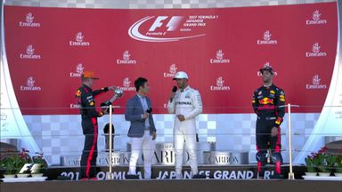 Japanese GP: Top three drivers