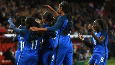 England Women lose to France
