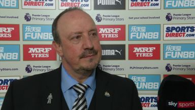 Benitez pleased with Newcastle belief