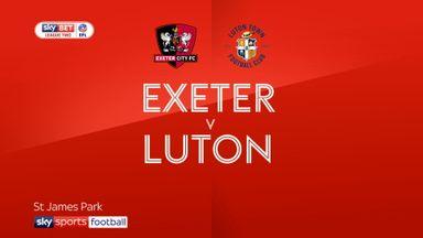 Exeter 1-4 Luton
