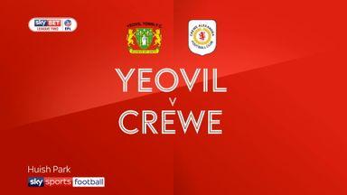 Yeovil 2-0 Crewe