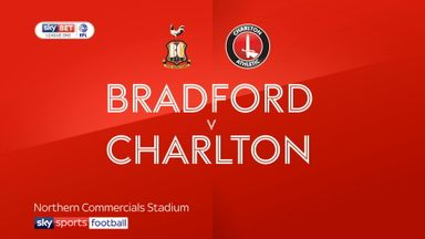 Bradford 0-1 Charlton