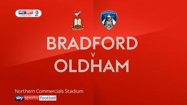 Bradford 1-1 Oldham