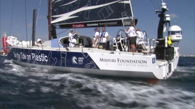 Sky partner Volvo Ocean Race team