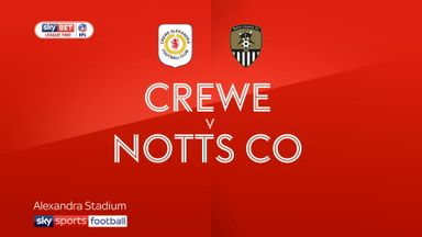 Crewe 2-0 Notts County