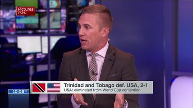 Twellman: USA an 'utter embrassment'