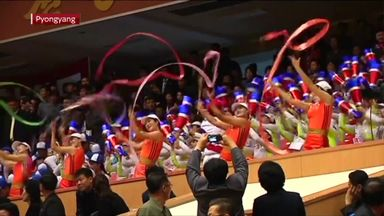 North Korea open national games
