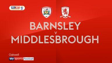 Barnsley 2-2 Middlesbrough