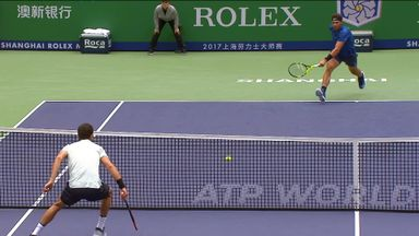 Perfect touch from Dimitrov