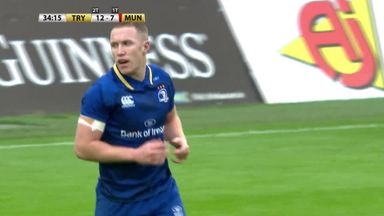 Highlights: Leinster 23 - 17 Munster