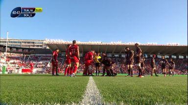 Toulon 21-20 Scarlets