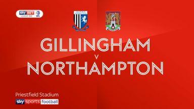 Gillingham 1-2 Northampton
