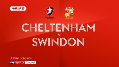 Cheltenham 2-1 Swindon