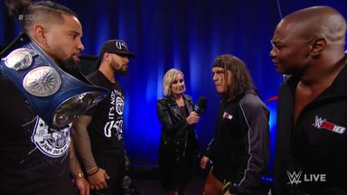 Gable & Benjamin square up to Usos