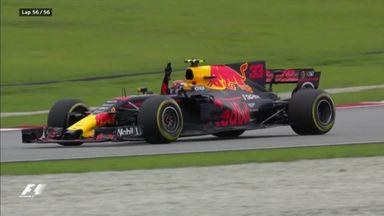 Max wins the Malaysia GP