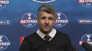 Robinson: We were fitter than Rangers