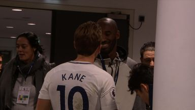Kane meets NBA star Bryant