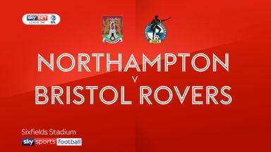 Northampton 0-6 Bristol Rovers