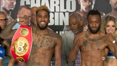 Hurd v Trout - Weigh In
