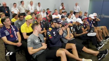 Inside the Malaysia driver briefing