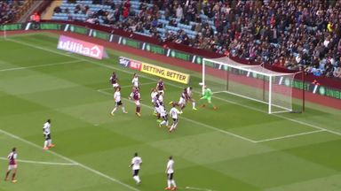 Terry nets first Villa goal