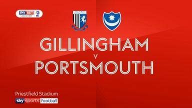 Gillingham 0-1 Portsmouth
