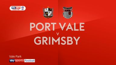 Port Vale 1-2 Grimsby